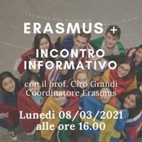 Costruisci il tuo futuro studiando all'estero! Pubblicato il bando Erasmus+ 2021/22